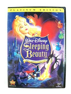 Sleeping Beauty (2 DVD, 2008, Platinum Edition) 50th Anniversary - Fast Shipping