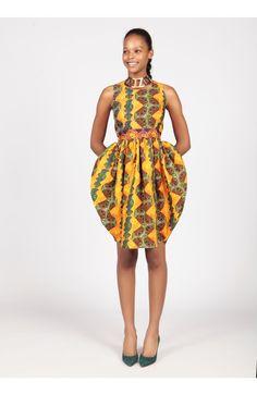 Tropical Tulip Dress by Kiki Clothing for MyAsho #Ghana #Accra