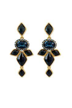 $65 (rent) Oscar de la Renta Nightshade Earrings