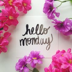 #hellomonday #watercolor #floral