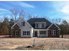 http://www.propertypanorama.com/instaview-elite/gre/111233  December/January completion. Front and rear porches,stone on exterior and FP. Master and 2nd BR down. Formal DR. Laminate and tile flooring. Third BR/Bath on 2nd level plus 4th BR/Bonus (lot has 4 BR septic permit), and reading nook w/built-in book shelves. Garage w/exit door and pegboard for storage. Two minutes from Chicod Schools.