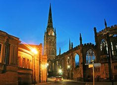 """My City In Music – Coventry by Nina Baker There was a time when """"Being sent to Coventry"""" was a bad thing. In the shadows of the war-beaten cathedral, the vast expanse of 60's concrete and the ring …  #musician #music #history #feature #coventry"""