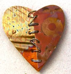 Copper Heart by amy volchok, via Flickr