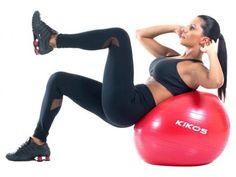 Bola de Ginástica 55cm - Kikos AB3630 com as melhores condições você encontra no Magazine 233435antonio. Confira!