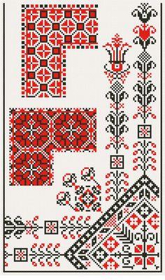 Cross Stitch Heart, Cross Stitch Borders, Modern Cross Stitch, Cross Stitch Designs, Cross Stitching, Cross Stitch Patterns, Hungarian Embroidery, Folk Embroidery, Embroidery Patterns Free
