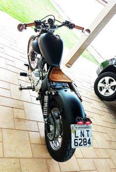 Yamaha Virago, 125 Virago, Honda Bobber, Bobber Motorcycle, Bobber Chopper, Custom Bobber, Custom Bikes, Brat Cafe, Bobbers