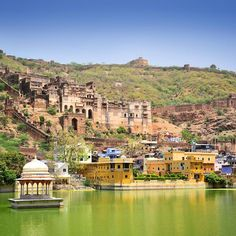 From our trip to Rajasthan: in the city of Bundi. Photo © TravelPlusStyle.com Rajasthan India, Landscape Pictures, India Travel, World Traveler, Tourism, Nikon, Adventure, Vacation, Mansions
