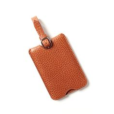 Deluxe Luggage Tag  Italian Leather  Whiskey brown *** Check out this great product.Note:It is affiliate link to Amazon.