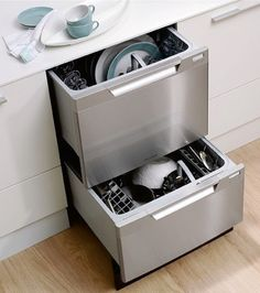 two drawer dishwasher