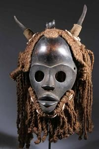 it is the object of ritual ceremonies, not only at the African peoples, but also in the Cambodia, where the masks of the dance of the Trot are the object of special attentions: they would be dangerous, should the opposite occur, for the carriers.