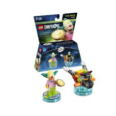 LEGO Dimensions 71227 - The Simpsons Krusty Fun Pack #lego #LegoDimensions #videogames #videogame #E32015