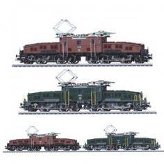 Imagen de http://www.kitsmodelismo.es/8928-home_default/set-dos-locomotras-electricas-cocodrilo-suizas-serie-ce-6-8-ii-sbb-marklin-escala-ho.jpg.