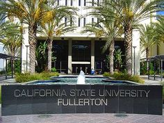 Would you like a Tour of Cal State Fullerton, including Mihaylo College? Take a look at our Tour Schedule! California State University Fullerton, Fullerton California, Dean Of Students, New Students, Doctor Of Education, Teaching Credential, College Search, California Love, Alma Mater