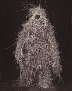 "les-sources-du-nil:  Marcus Leatherdale ""Strawman 2 - Muria"", 2000, from 'Adivasi'"