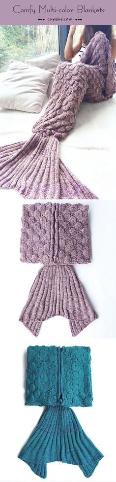 Yes, it's only $39.99 & Free Shipping! This fantastic ribbed mermaid blanket totally lives up in the winter! It's everything we though it would be! It's comfy & warm which is good for cold weather, the color is amazing so it's perfect to keep you in the easy afternoon!