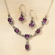 Newari Amethyst Jewelry