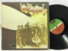Led Zeppelin II LP #Vinyl Record Atlantic SD 8263
