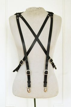 Zana Bayne six-point suspenders