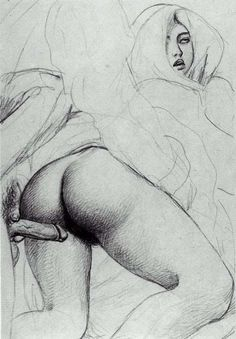 Antique erotic illustrations by Fameni Exotic Art, Black White Art, Love And Lust, Sexy Cartoons, Figurative Art, Les Oeuvres, Art Reference, Illustration, Pin Up