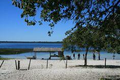 Rancho, Laguna Blanca Paraguay. fotografia SENATUR