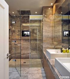 Amazing Bathrooms Designs With Pleasant Decor - http://www.dedecoration.com/interior-home-design/amazing-bathrooms-designs-with-pleasant-decor.html