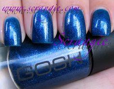 GOSH Blue Monday (Shimmery Blue)