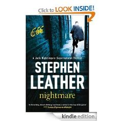 Absolutely addicted to Stephen Leather books and Jack Nightingale (this is the 3rd one) are very cool stories about selling souls to the devil and then doing deals with devils. Would make awesome films.