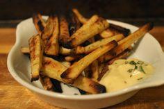 Rosemary Garlic Parsnip Fries | The Simple Treat