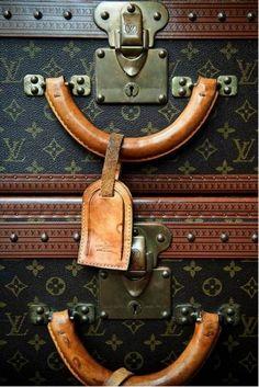 i've always wanted a vintage louis vuitton trunk. Louis Vuitton Trunk, Vintage Louis Vuitton Luggage, Lv Luggage, Vintage Luggage, Louis Vuitton Wallet, Louis Vuitton Handbags, Vintage Suitcases, Luxury Luggage, Lv Handbags
