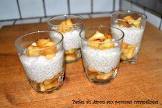 Perles du Japon aux pommes caramélisées