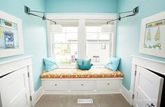 wall color: Benjamin Moore - Spirit in the Sky by gracie