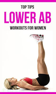 Lower ab workouts for women ab workouts, exercise, flat abs, Ab Workout For Women At Home, Fitness Tips For Women, Health And Fitness Tips, Women's Fitness, Six Pack Abs Workout, Best Ab Workout, Tummy Workout, Fat Workout, Best Abdominal Exercises