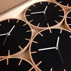 #primary #clock #cog #nero #black #douglasfir #screenprint #madebyGB #byShop #wholesale orders: info@byshop.co