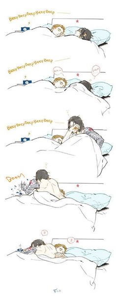 I don't like stucky but but this is cute