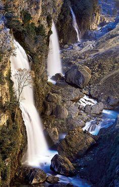 Kapuzbaşı Waterfall Aladağ Adana Turkey. By Turgut Tarhan