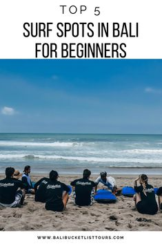 Great surf spots for beginners in Bali. Where better to learn to surf than in Bali? Before you take on the big swell we have picked a couple of gentler spots for you. Bali Travel Guide, Asia Travel, Surf Travel, Bali Sunset, Best Surfing Spots, Adventures Abroad, Learn To Surf, Surf Trip, Outdoor Travel