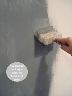 Kalklitir kalkmålning inspiration | inreda.com/blogg