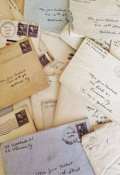 Stay in touch with snail mail. Anyone can write an email, but a handwritten letter is a thoughtful, nostalgic gesture.
