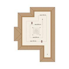 DOM.PL™ - Projekt domu DA Hipokrates CE - DOM DS1-75 - gotowy koszt budowy House Layout Plans, Dream House Plans, House Layouts, Village House Design, Village Houses, Beautiful House Plans, Beautiful Homes, Bungalow Conversion, Bar Chart