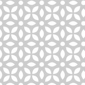 White On Grey Jaali by emmyupholstery, click to purchase fabric