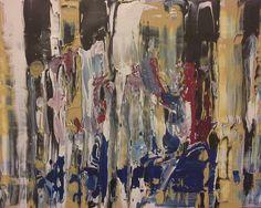 Abstract #612 Acrylic on Canvas 14x18
