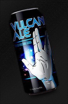 Vulcan Ale - Federation of Beer - Haha, this is pretty funny. I wish it were Romulan though...
