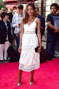Daily Style directory: Naomie Harris in a Self-Portrait dress - click through to see this week's best dressed