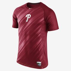 Nike Pro Core Speed Raglan Fitted 1.5 (MLB Phillies) Men's Shirt