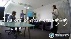 Office move time-lapse - The Art of Desk Arranging…not Glass Tables, Office Moving, Gopro Hero 3, Desk, Space, Art, Floor Space, Art Background, Desktop