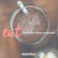 Vegan Choco Shakeology anyone?!  Absolute fave!! Add 2 frozen bananas & almond milk + ice = relish!!