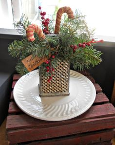 cheese grater flower arrangement - Google Search