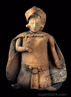 Mayan Clay Figurine c.700-1000 A.D. Campeche, Mexico Pre-Columbian Collection of The Museum of Contemporary Art, Jacksonville, Florida