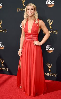 Jessie Graff from 2016 Emmys Red Carpet Arrivals | E! Online                                                                                                                                                                                 More