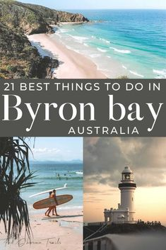 Planning your Byron Bay vacation and looking for the best things to do in this beautiful destination? With amazing cafes with delicious food, to beautiful beaches like wategos, and an array of free natural attractions, we've got the list of the top activities in this northern NSW gem. | #Australiatravel #byronbay #traveltips Australia Travel Guide, Visit Australia, Byron Bay Beach, Solo Travel, Travel Tips, Travel Guides, Best Beaches To Visit, New Zealand Travel, New Wave